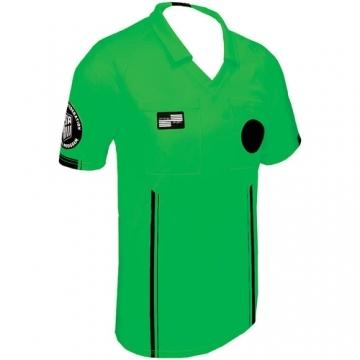 78c5f1765 New Referee Economy Jersey- Green Short Sleeve
